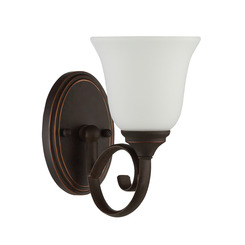 Craftmade 24201-MB-WG Barrett 1 Light Wall Sconce