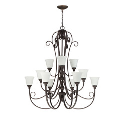 Craftmade 24212-MB-WG 12 Light Chandelier