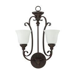 Craftmade 24222-MB-WG 2 Light Wall Sconce