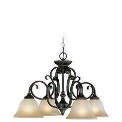 Craftmade 24224-MB Barrett Place Down Chandelier