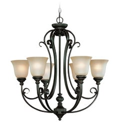 Craftmade 24226-MB Barrett Place Chandelier
