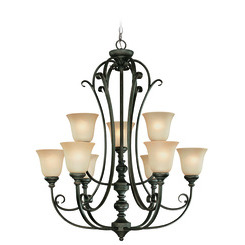 Craftmade 24229-MB Barrett Place Two Tier Chandelier
