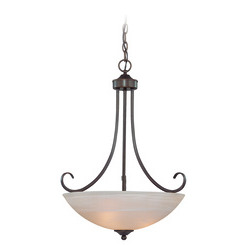 Craftmade 25323-OB Raleigh Inverted Pendant