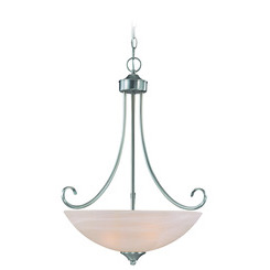 Craftmade 25323-SN Raleigh Inverted Pendant