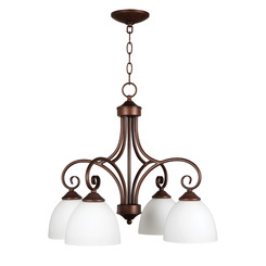 Craftmade 25324-OB-WG Raleigh Down Chandelier