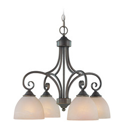 Craftmade 25324-OB Raleigh Down Chandelier