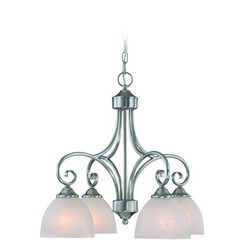 Craftmade 25324-SN Raleigh Down Chandelier