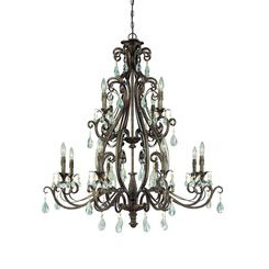 Craftmade 25612-FR Englewood Two Tier Chandelier