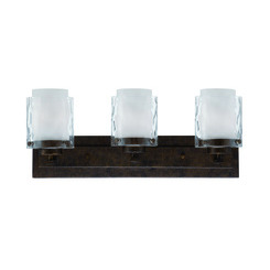 Craftmade 35403-PR Kenswick 3 Light Vanity