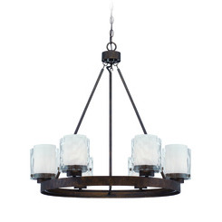 Craftmade 35426-PR Kenswick 6 Light Chandelier