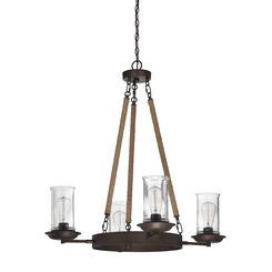 Craftmade 36124-ABZ Thornton Up/Down Chandelier