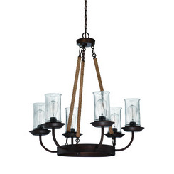 Craftmade 36126-ABZ Thornton 6 Light Chandelier