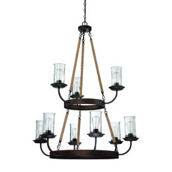 Craftmade 36129-ABZ Thornton Chandelier