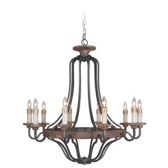 Craftmade 36510-TBWB Ashwood Chandelier