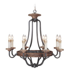 Craftmade 36528-TBWB Ashwood Chandelier