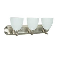 Craftmade 37703-SN Almeda 3 Light Vanity