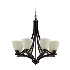 Craftmade 37728-OLB Almeda 8 Light Chandelier