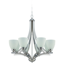 Craftmade 37728-SN Almeda 8 Light Chandelier