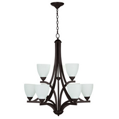Craftmade 37729-OB-WF Almeda 9 Light Chandelier