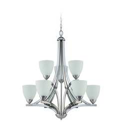 Craftmade 37729-SN Almeda 9 Light Chandelier
