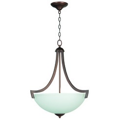 Craftmade 37743-OB-WF Almeda 3 Light Inverted Pendant