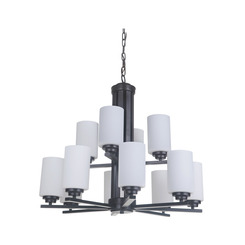 Craftmade 39712-OB 12 Light Chandelier
