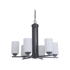 Craftmade 39726-OB 6 Light Chandelier