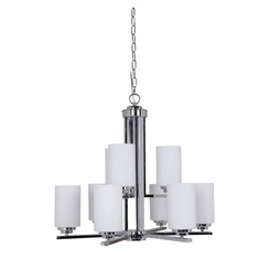 Craftmade 39729-CH 9 Light Chandelier