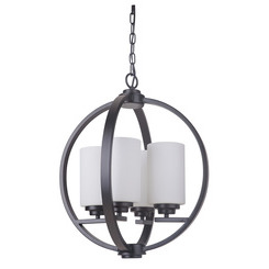 Craftmade 39744-OB 4 Light Foyer