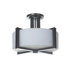 Craftmade 39753-OB 3 Light Semi Flush