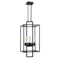 Craftmade 41536-ABZ Cubic 6 Light Foyer - Aged Bronze Brushed