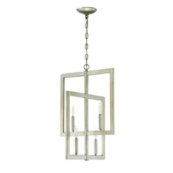Craftmade 44934-GT Portrait 4 Light Foyer in Gold Twilight