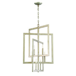 Craftmade 44936-GT Portrait 6 Light Foyer in Gold Twilight