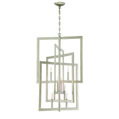 Craftmade 44938-GT Portrait 8 Light Foyer in Gold Twilight