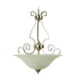 Craftmade 7118BNK3 Cecilia Inverted Pendant - Brushed Satin Nickel