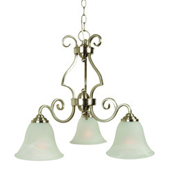 Craftmade 7121BNK3 Cecilia Down Chandelier