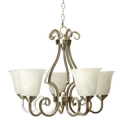 Craftmade 7124BNK5 Cecilia 5 Up-Light Chandelier