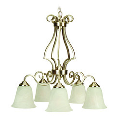 Craftmade 7125BNK5 Cecilia Down Chandelier