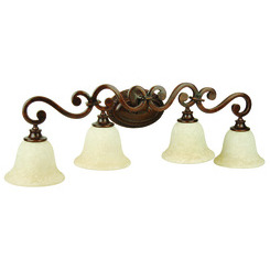 Craftmade 9135PR4 Toscana 4 Light Vanity