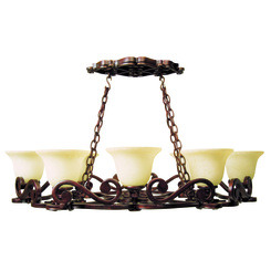 Craftmade 9138PR8 Toscana 8 Light Pot Rack - Peruvian Bronze