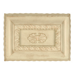 Craftmade CH1201-AWD Hand-Carved Rectangle Chime - Antique White Distressed