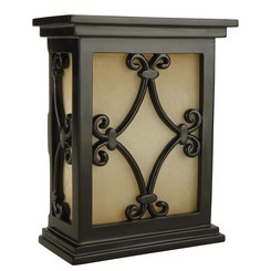 Craftmade CH1515-BK Hand-Carved Scroll Design Chime - Black