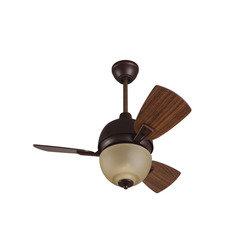"Craftmade DA30OBG3 30"" Ceiling Fan with Blades Included - Oiled Bronze Gilded"