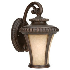 Craftmade Z1204-112 1 Light Small Wall Mount - Peruvian Bronze