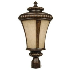 Craftmade Z1225-112 1 Light Post Mount - Peruvian Bronze
