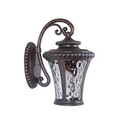 Craftmade Z1254-112 Prescott II 1 Light Small Wall Mount - Peruvian Bronze