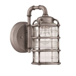 Craftmade Z2114-16 1 Light Small Wall Mount - Aged Galvanized