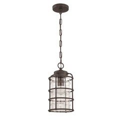 Craftmade Z2121-12 1 Light Pendant - Aged Bronze Brushed