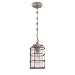 Craftmade Z2121-16 1 Light Pendant - Aged Galvanized