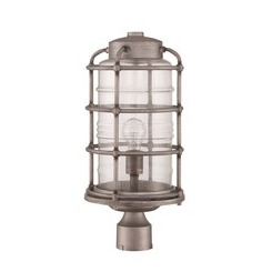 Craftmade Z2135-16 1 Light Post Mount - Aged Galvanized